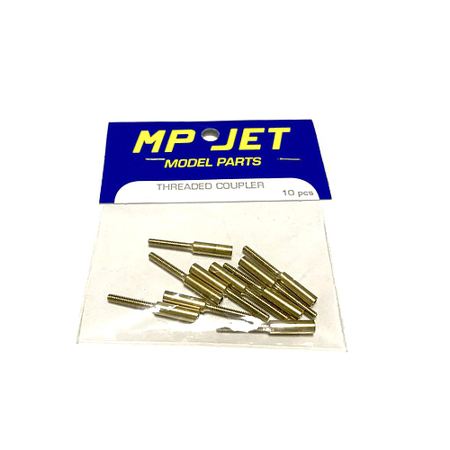 MP JET M3 Brass Coupler 22mm Ø 3 - 1.6mm (10pcs)