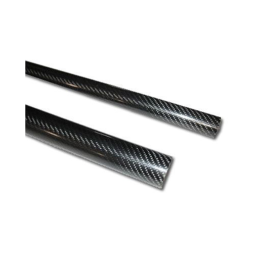 3K Carbon fiber tube 14x12x1000mm. High glossy finish
