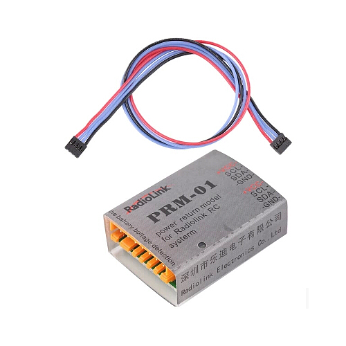 Battery voltage telemetry sensor PRM-01