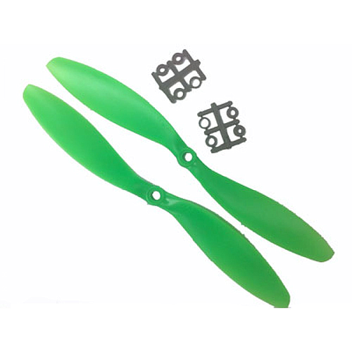 ABS green multicopter propellers  10x4.5 (pair)