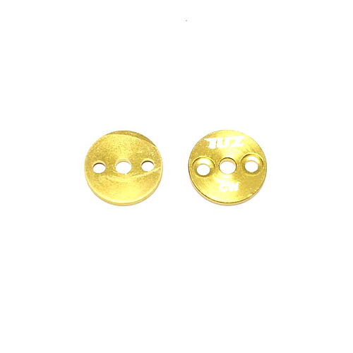 Propeller direct mounting holding-down plate for T-motor and HL motor - gold (Pair)