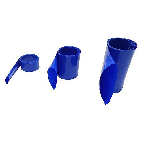 15 mm PVC Heat Shrink Tube Blue