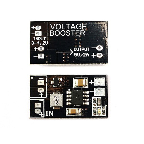 Voltage Booster 1S to 5V