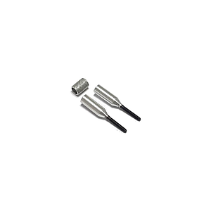 MP JET Alu Coupler for Carbon Tube Ø 4mm to M2