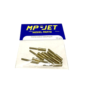 Acoplador de Latón MP JET M3 22mm Ø 3 - 2mm (10pcs)