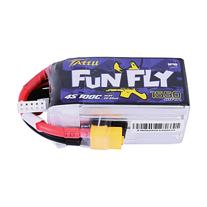TATTU FUNFLY SERIES 1550mAh 14.8V 100C Lipo Battery