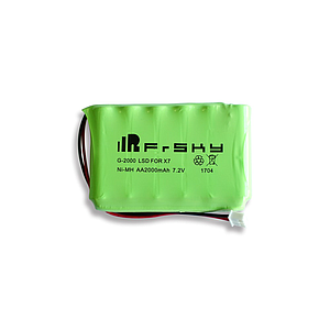 2000mAh 7.2v battery for FrSky Taranis Q X7