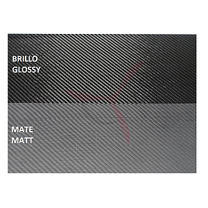 3K Carbon Fiber Sheet 250x200  2.5mm. Glossy Finish