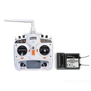 Walkera DEVO 12E 2.4GHz 12 Channels Transmitter White With RX1202