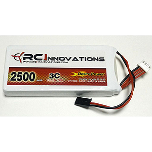Desire power  3s 2500mAh 3C - Emisoras RC (B)
