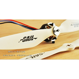 SAIL multicopter Beech wood Propeller 12x4 (Pair CW/CCW)
