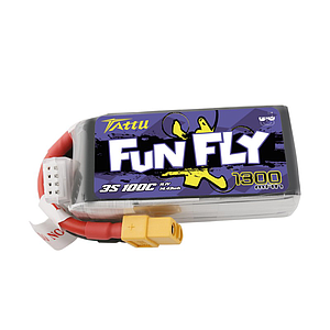 TATTU FUNFLY SERIES 1300mAh 11.1V 100C Lipo Battery