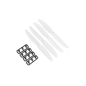ABS multicopter propeller  5x3 CW/CCW white (2 pairs)