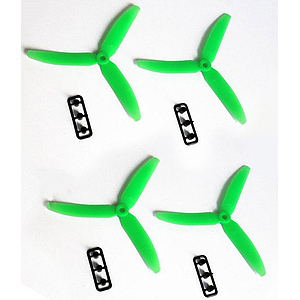 3 blade ABS multicopter propeller  5x3 green (4 units)