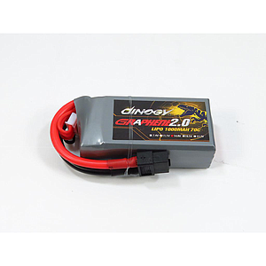 Dinogy Ex-Light Graphene 2.0  4s 1000mAh 70C