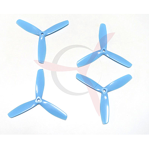 Hélices Tripala Gemfan Master Props 5050 Bullnose CW/CCW Azul (2 parejas)