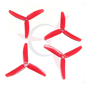 Master prop 5040 3 blade CW & CCW Red ( 2 pairs)