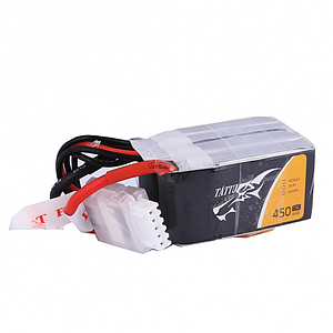 TATTU 450mAh 4S 14.8V 75C Lipo Battery
