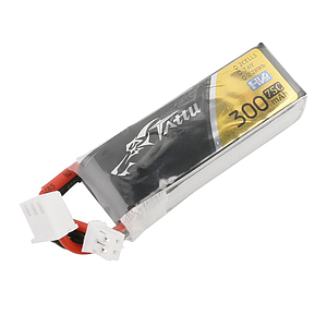 TATTU HV 300mAh 2S 7.6V 75C LiPo Battery