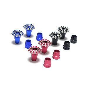Aluminum Stick Ends FrSky M4 Style Grand Lotus (Blue)