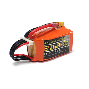 U-TECH PRO 650mAh 3S 11.1V 95C LiPo Battery - XT30