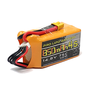 U-TECH PRO 850mAh 4S 14.8V 75C LiPo Battery - XT30
