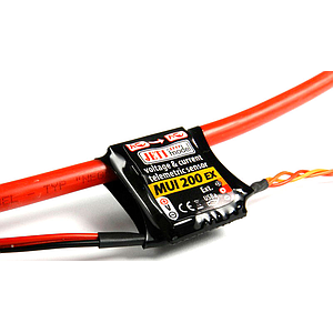 Jeti Telemetry Voltage & Current Sensor MUI75 EX 200A