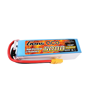 Gens Ace 5000mAh 7S 25.9V 60C Lipo Battery