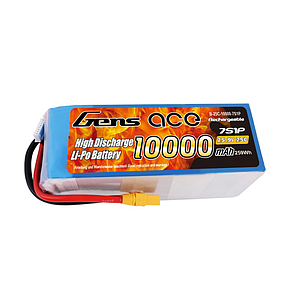 Gens Ace 10000mAh 7S 25.9V 25C Lipo Battery