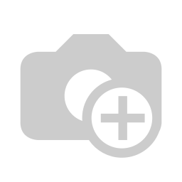 HQ Durable Prop  1.9X3X3 Tri-blade Black (2 pairs )
