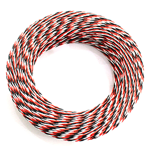 Silicone Twisted 22AWG Servo Wire 1mtr